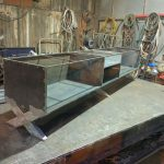 הכנת מזנון ברזל בלייזר
