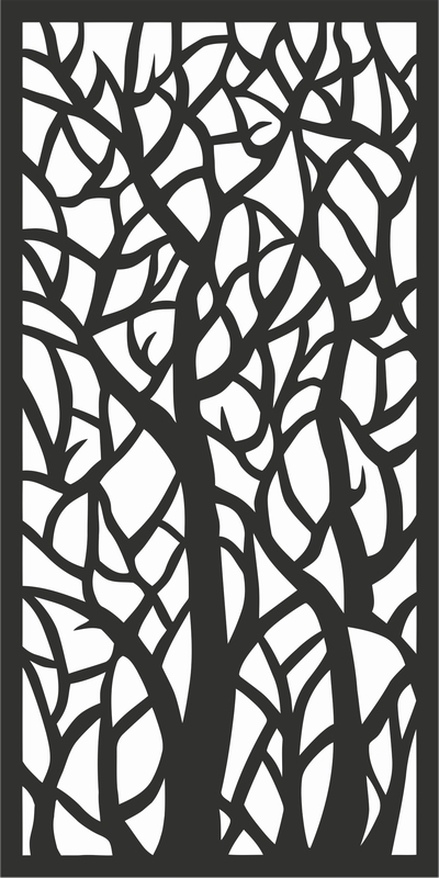 משרביה בדוגמת ענפים
