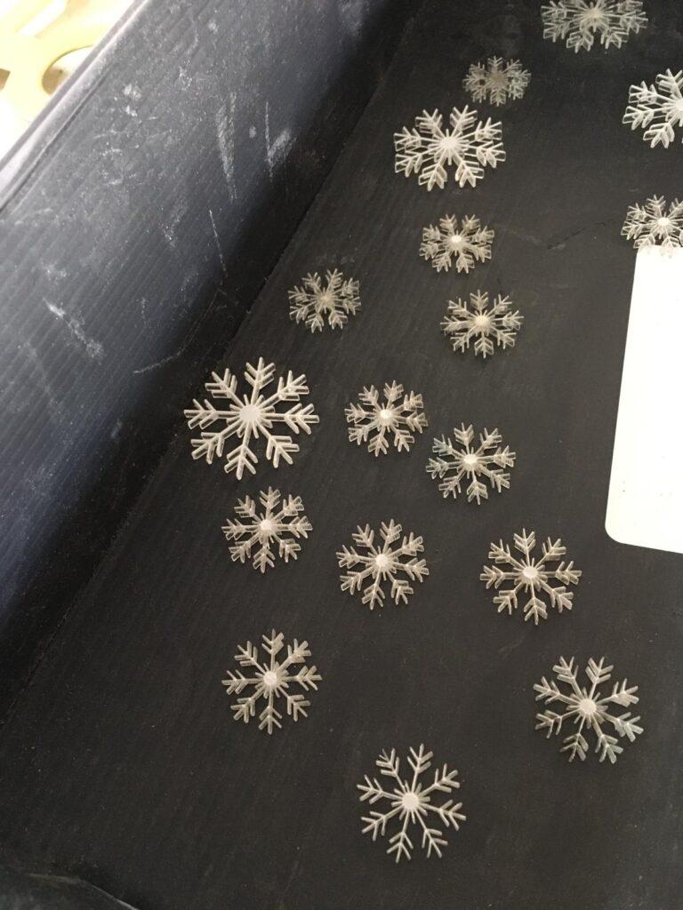 פתיתי שלג מפרספקס